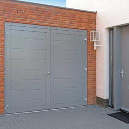 dean garage doors side hinge garage door