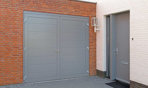 Side Hinged Garage Door And Door Gloucester