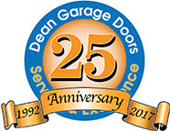 dgd dean garage doors 25 years anniversary family run vince farmer